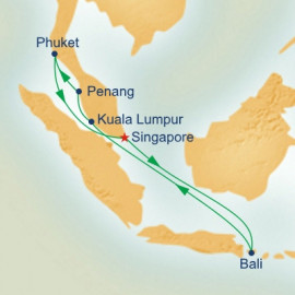 Malaysian Peninsula and Indonesia Itinerary