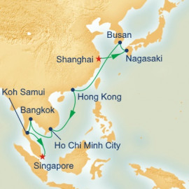 Grand Asia Itinerary