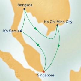Vietnam and Thailand Princess Cruises Cruise