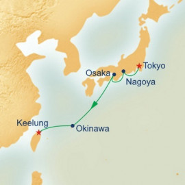 Honshu and Okinawa Itinerary