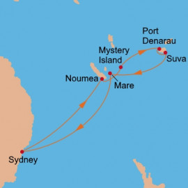 Pacific Islands Itinerary