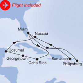 Grand Caribbean Fly Itinerary