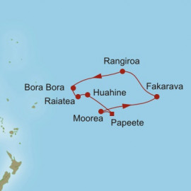 Sparkling South Pacific Itinerary