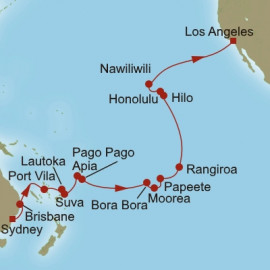 Pacific Sojourn Oceania Cruises Cruise