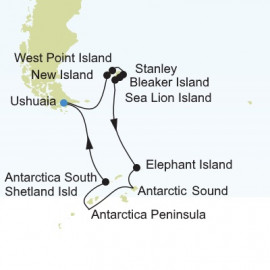 Antarctica Expedition Silversea Cruises Cruise