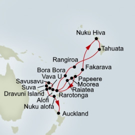 Polynesian and South Seas Sampler Itinerary