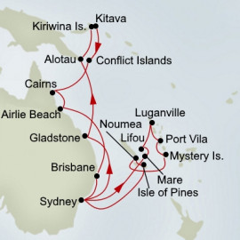 Australia Melanesia and Pacific Treasures Holland America Line Cruise