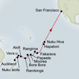 Polynesian Crossing  Itinerary