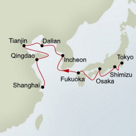 Japan and China Holland America Line Cruise