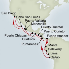 Incan Empies Holland America Line Cruise