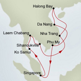 Thailand and Vietnam Holland America Line Cruise