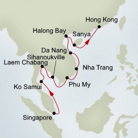Far East Discovery Holland America Line Cruise