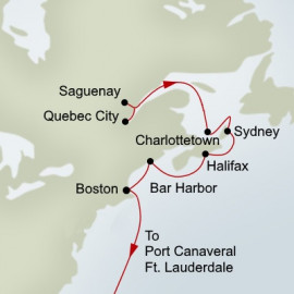 The Atlantic Coast Itinerary