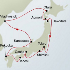 Japan and Russia Holland America Line Cruise