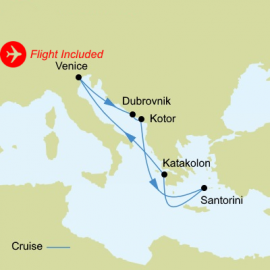Greek Isles Fly Stay Webjet Exclusives Cruise