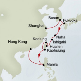 Taiwan and Japan Holland America Line Cruise