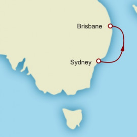 Sydney to Brisbane World Sector Cunard Cruise