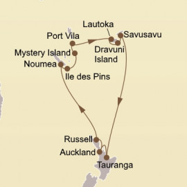 South Pacific Islands Seabourn Cruise
