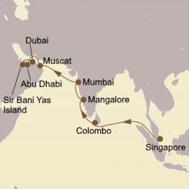 Jewels Of India and Arabia  Seabourn Cruise