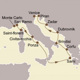 Italian Gems and Adriatic  Itinerary