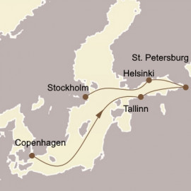 The Baltic and St Petersburg Itinerary