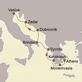 Greece and Dalmatian Delights Seabourn Cruise