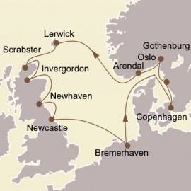 Northern Gems and Edinburgh Seabourn Cruise
