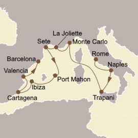 Italy and Spanish Splendours Itinerary