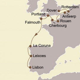 Gems Of Western Europe Itinerary