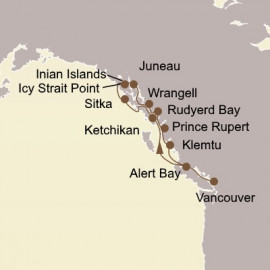 Ultimate Alaska and Inside Passage Itinerary