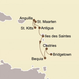 Holiday Yachtsmans Caribbean Itinerary