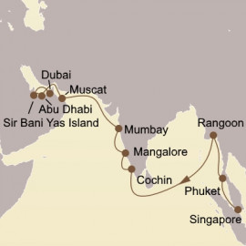 Myanmar India and Arabia Seabourn Cruise