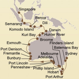 Holiday Australian Exploration Seabourn Cruise