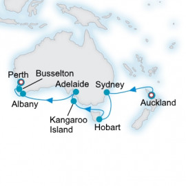 Australia and New Zealand Crystal Cruises Cruise