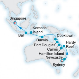 The Great Barrier Reef and Beyond Itinerary