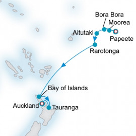 Polynesia and New Zealand Crystal Cruises Cruise