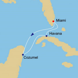 Havana and Cozumel