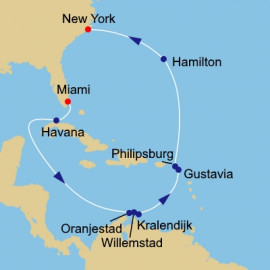 Miami to New York Azamara Club Cruises Cruise