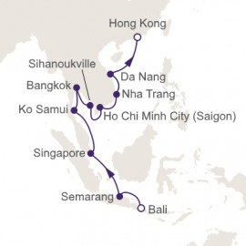 Eastern Contrasts Itinerary