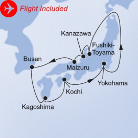 Discover Japan Fly Itinerary