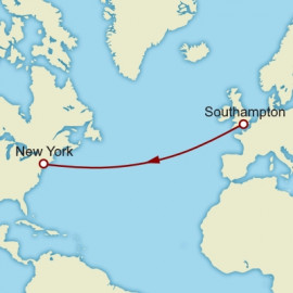 Westbound Transatlantic Crossing Cunard Cruise