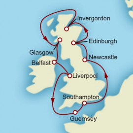 Around the British Isles Itinerary
