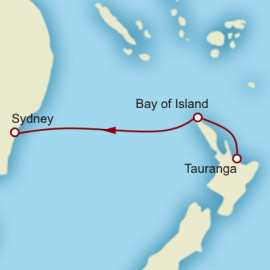 Tauranga to Sydney World Sector