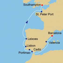 Spain To England Azamara Club Cruises Cruise