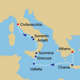 Greece Malta and Italy Azamara Club Cruises Cruise