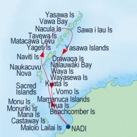 Northern Yasawa Islands Itinerary