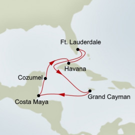 Authentic Cuba Holland America Line Cruise