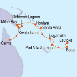 Papua New Guinea to Fiji Linblad Expedition Cruises Cruise