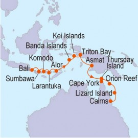 Spice Island Adventure Linblad Expedition Cruises Cruise