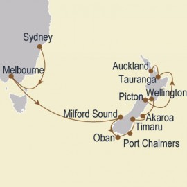 Australia & New Zealand Odyssey Cruise